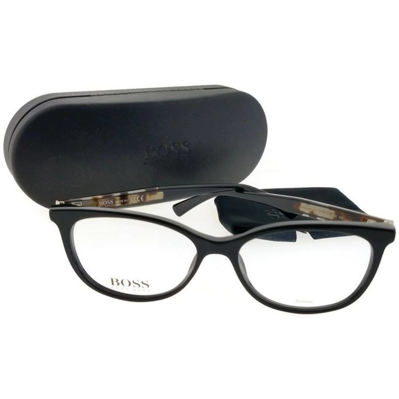 4c1d2f169432 Hugo Boss Accessories | 07960t9z54 Womens Black Frame Eyeglasses Nwt ...